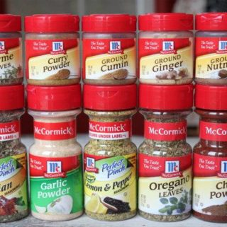 Spices Contain MSG
